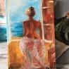 She is full of Sea - Она полна моря - Angelina - 20x40 cm