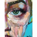 Look of the Soul - Angelina - 40x50 cm