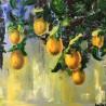 Green paradise - Зеленый рай - Angelina - 60x60 cm