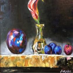 Purple composition -...