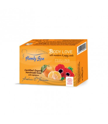 Handyspa Мыло Body Love с мандарином и семенами мака