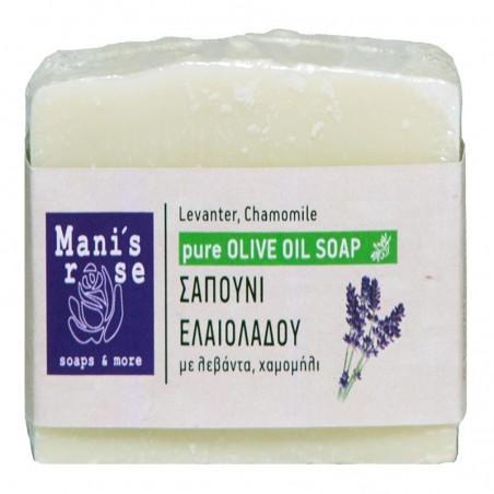Мыло с оливковым маслом - 100 г - Manis Rose