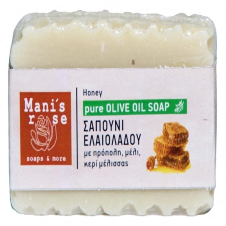 Мыло с оливковым маслом и мёдом - 100 г - Manis Rose
