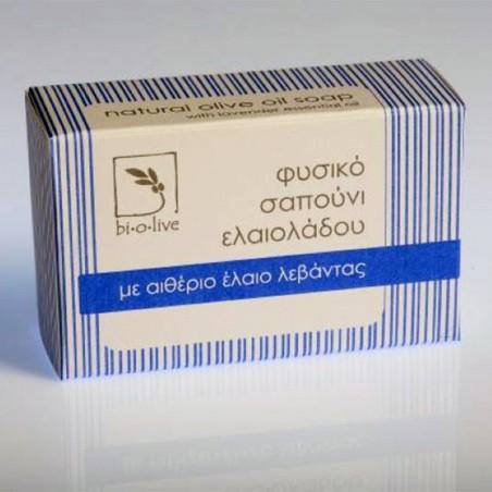 Thraco - мыло с оливковым маслом и лавандой - 110 гр
