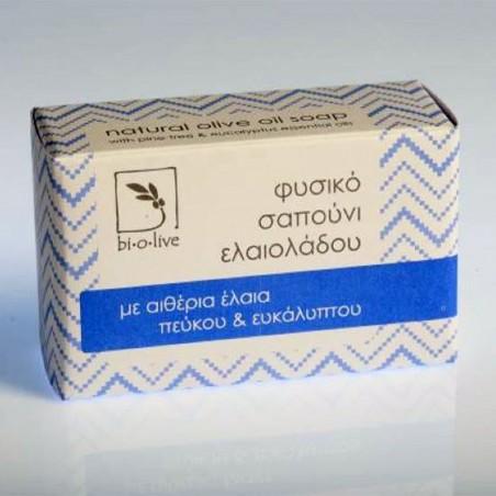 Thraco - Эвкалиптовое мыло с оливковым маслом -