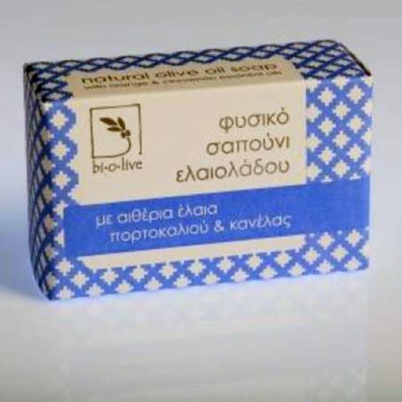 Thraco - Мыло с оливковым маслом - апельсин и корица