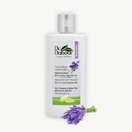 Жидкое мыло для тела и лица - 250мл - Dr. Dabour