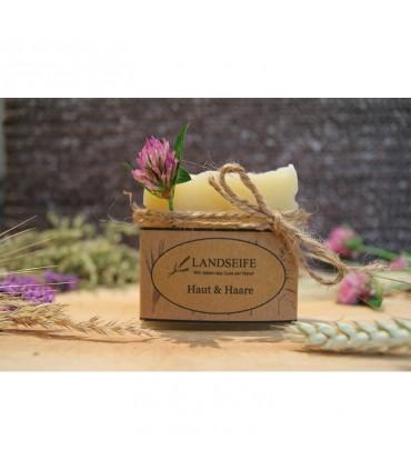 Landseife - Цветочное мыло для душа - Для кожи и волос