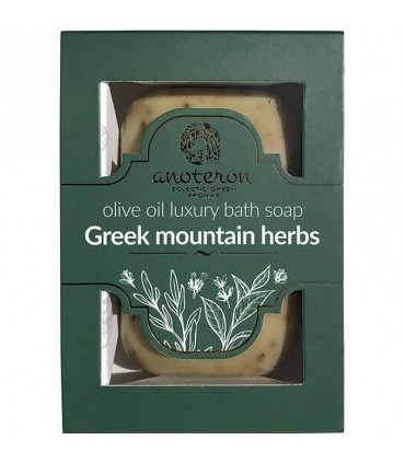 Kritinvest Мыло на оливковом масле с греческими травами